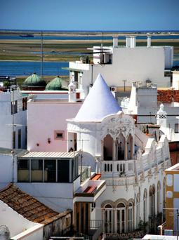 Stadt Ohlão bei Faro